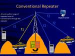 conventional repeater20