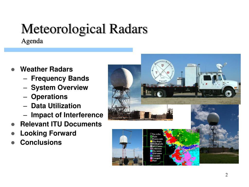 Meteorological Radars