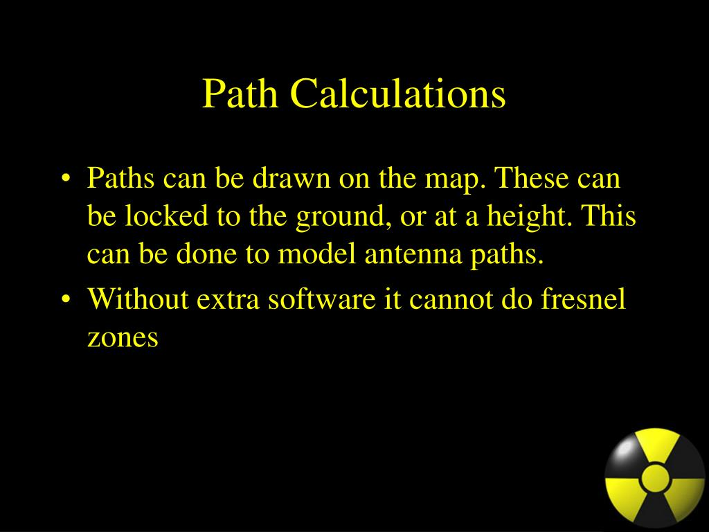 Path Calculations