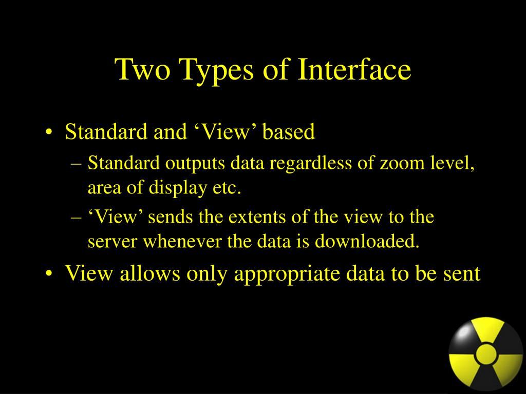 Two Types of Interface