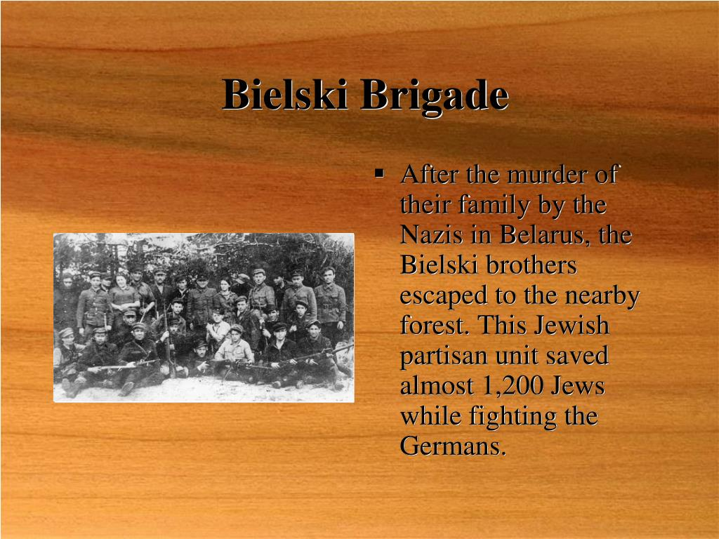 Bielski Brigade