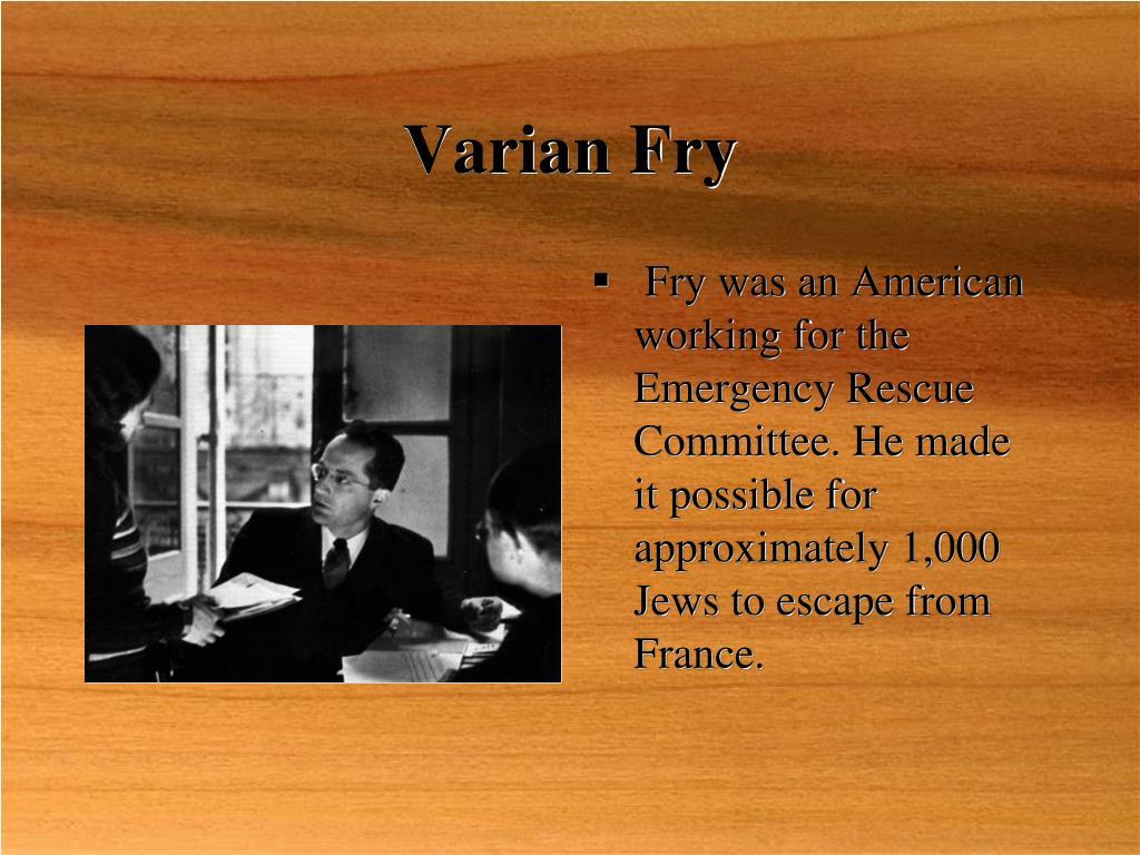 Varian Fry