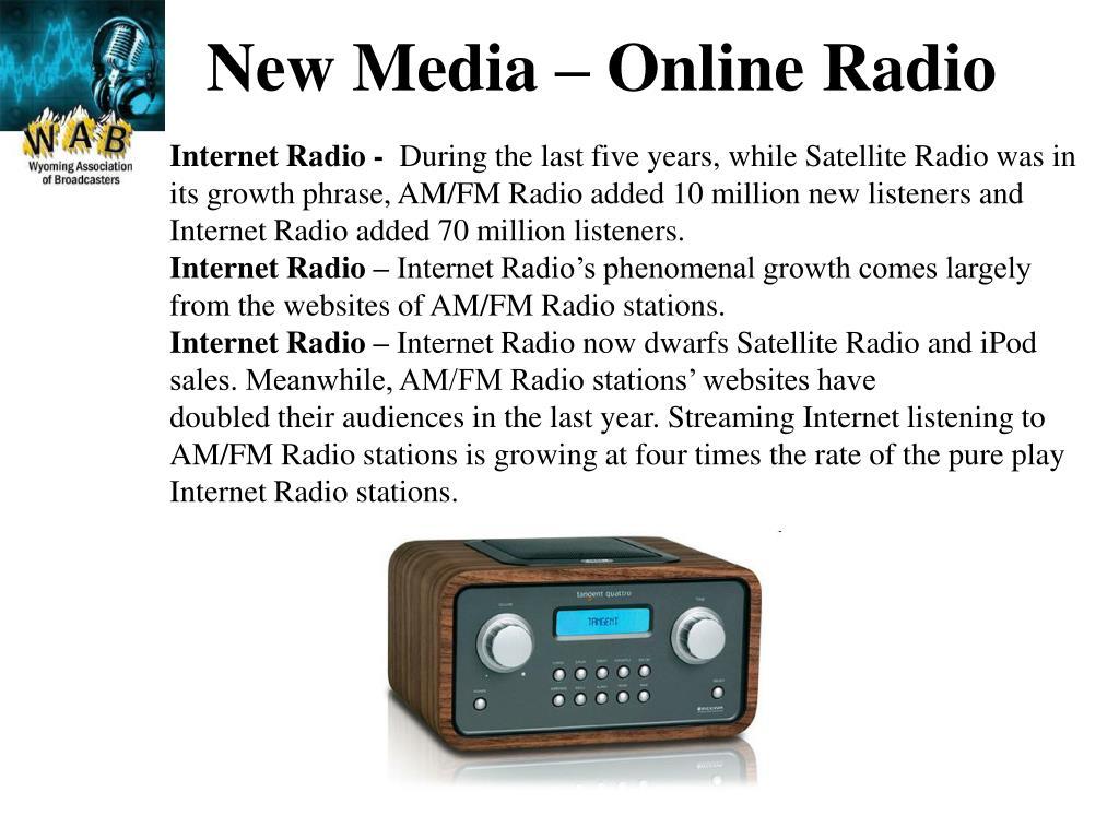 New Media – Online Radio