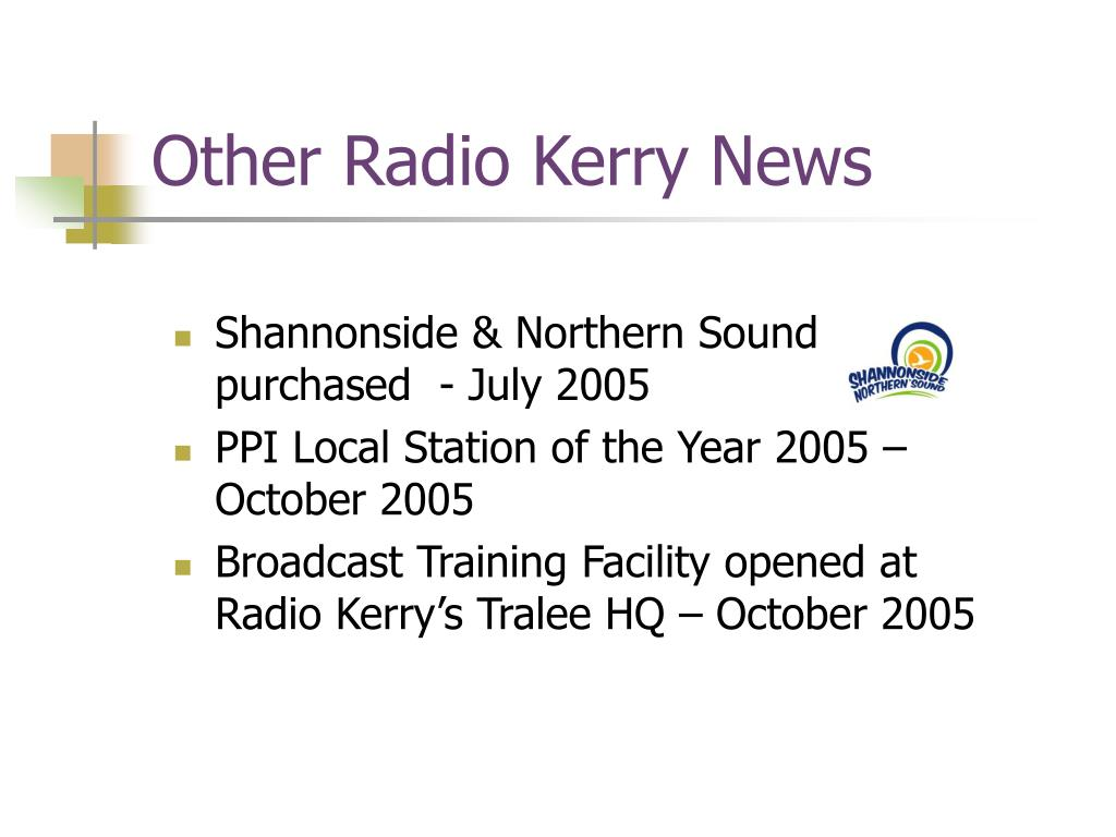 Other Radio Kerry News
