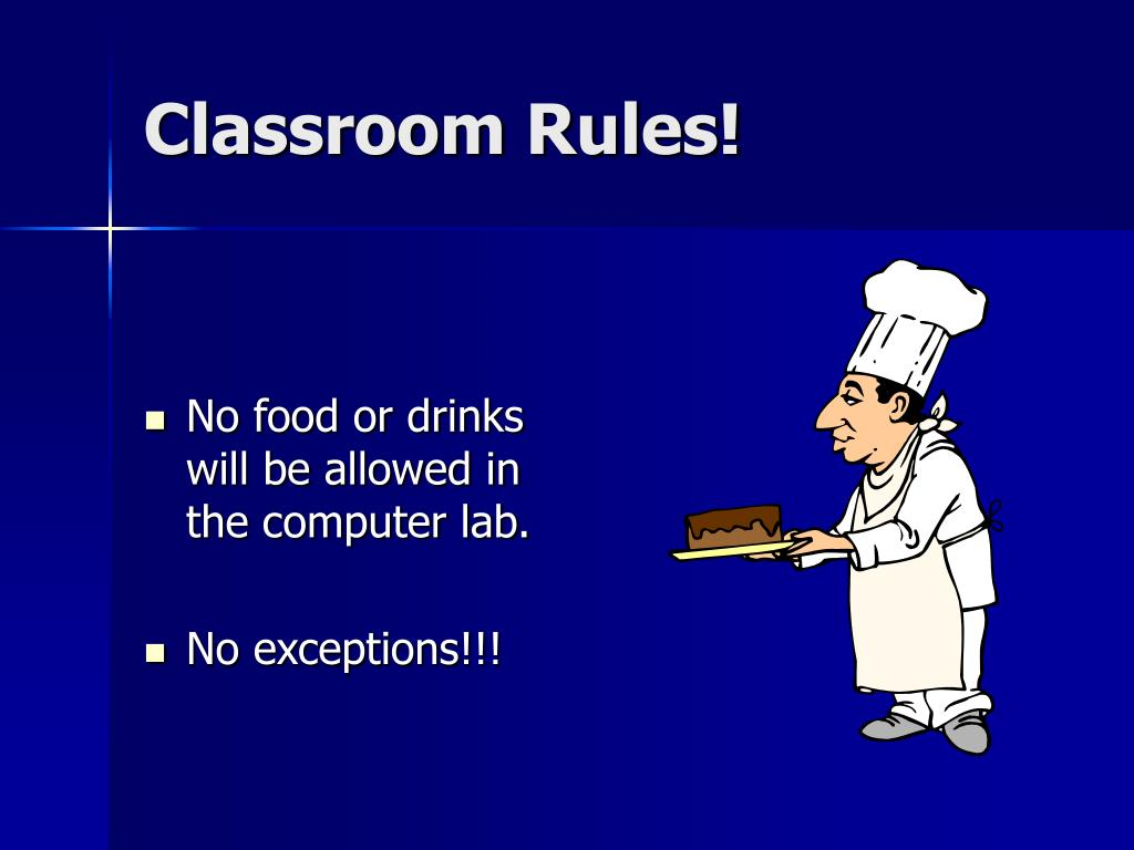 Classroom Rules!