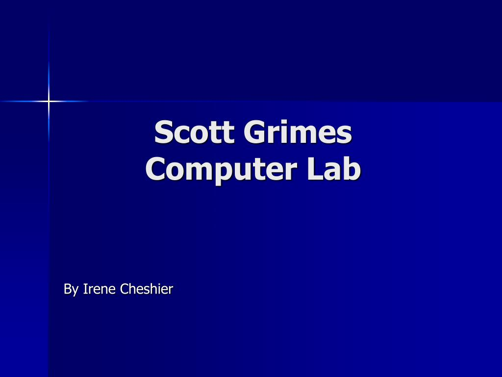 scott grimes computer lab