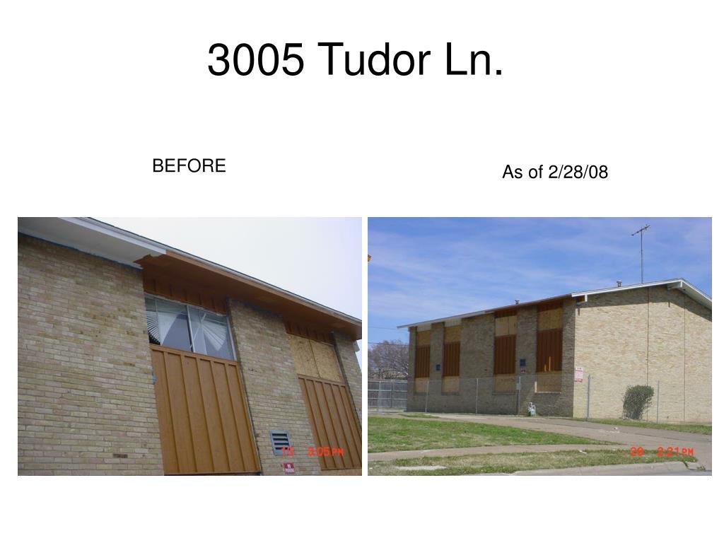 3005 Tudor Ln.