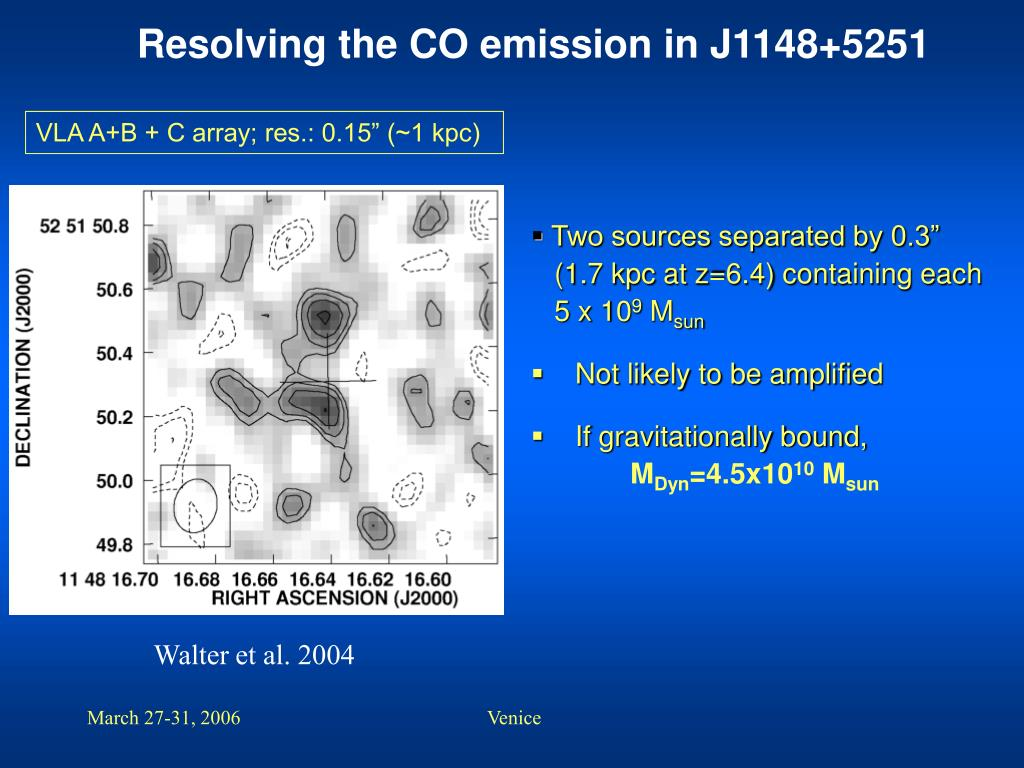 Resolving the CO emission in J1148+5251