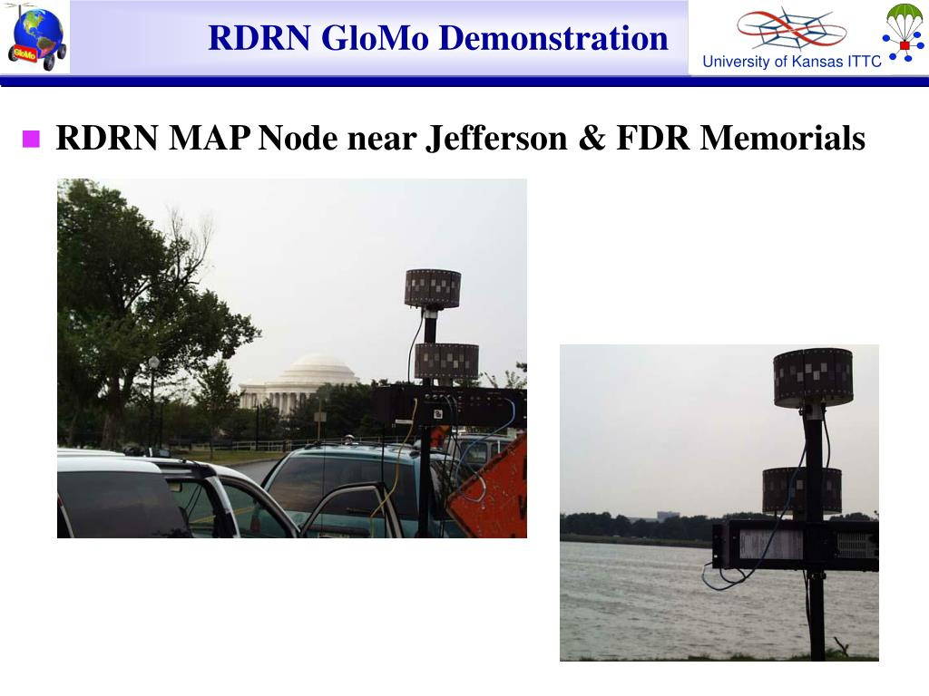 RDRN GloMo Demonstration