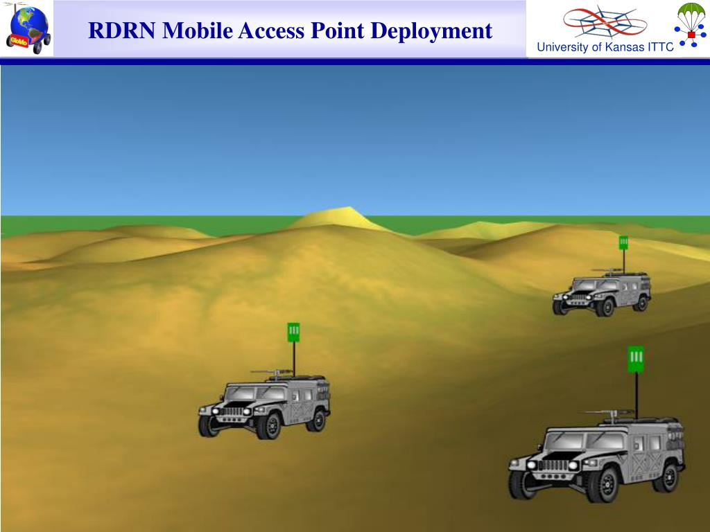 RDRN Mobile Access Point Deployment