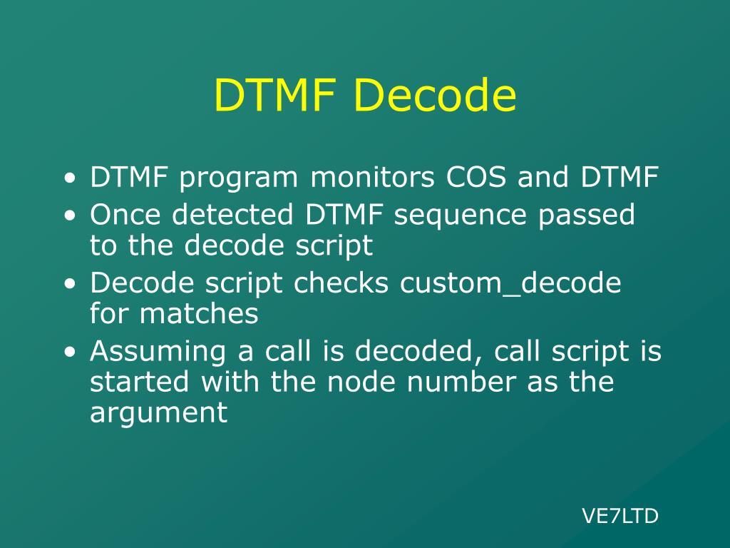 DTMF Decode
