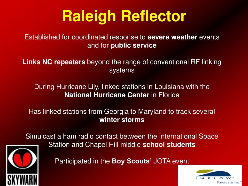 Raleigh Reflector