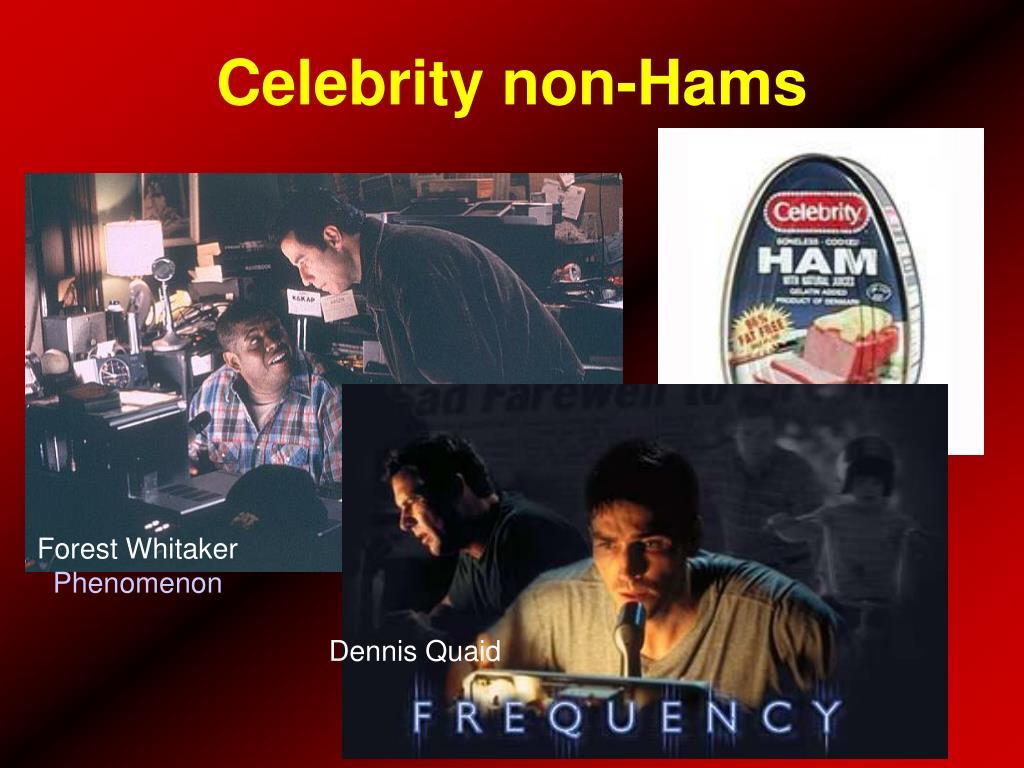 Celebrity non-Hams
