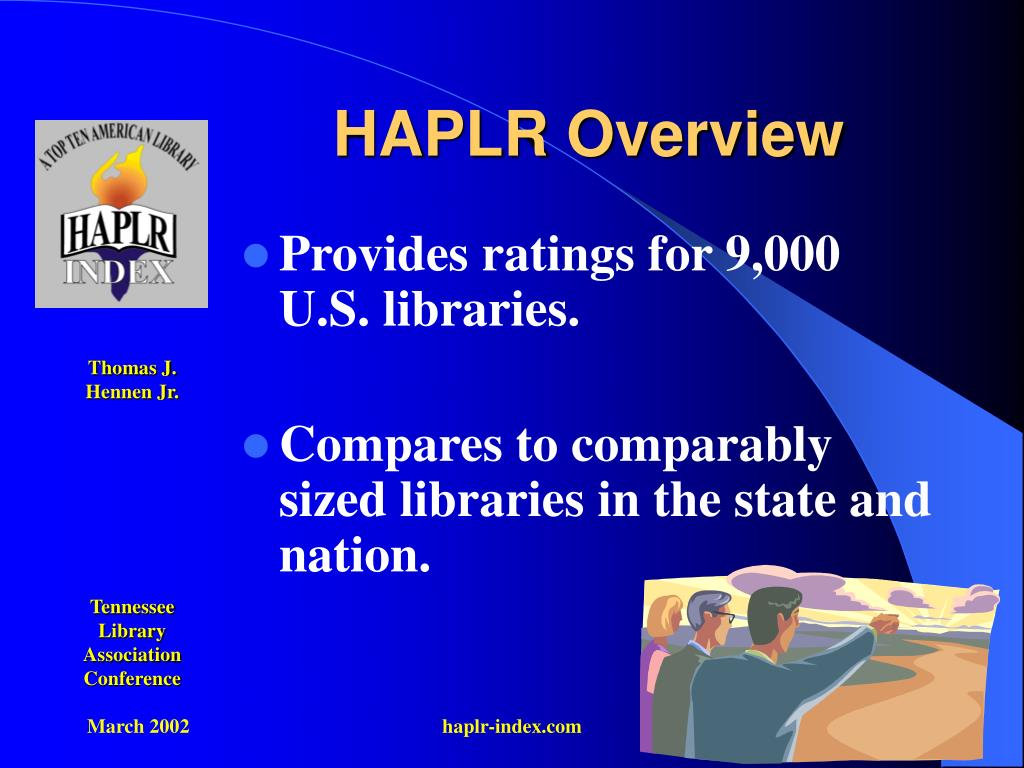 HAPLR Overview