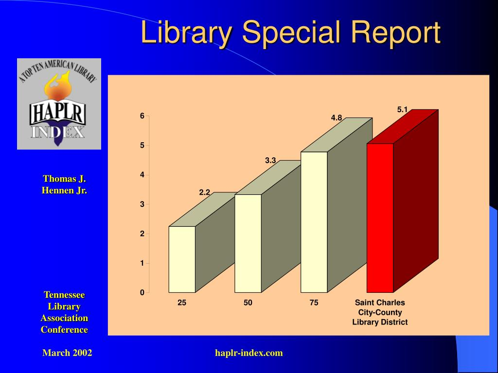 Library Special Report