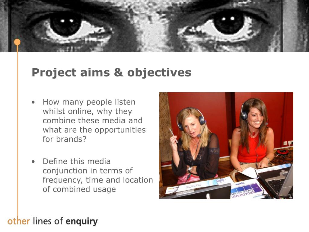 Project aims & objectives