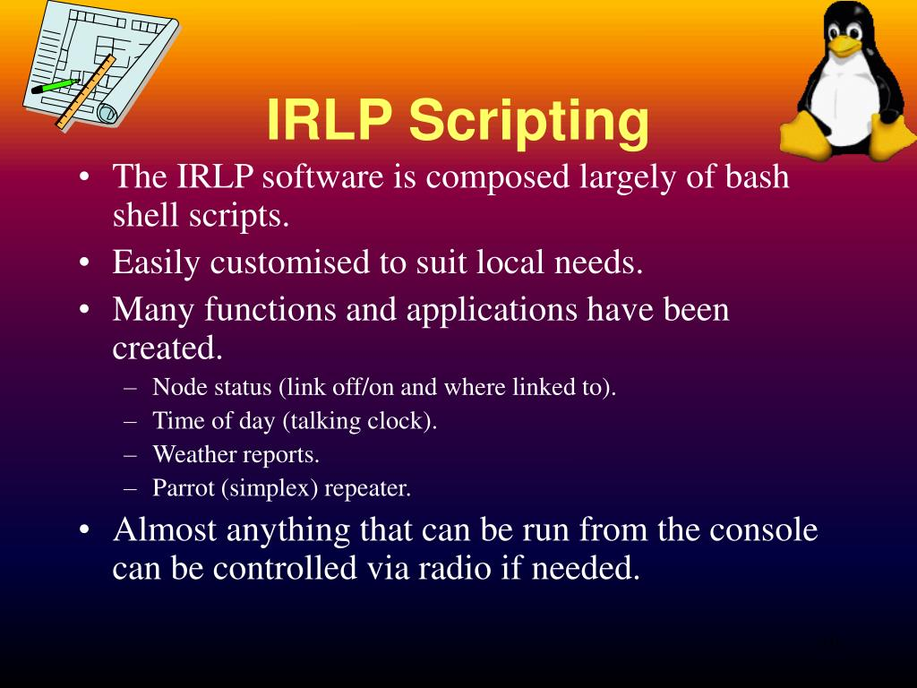 IRLP Scripting