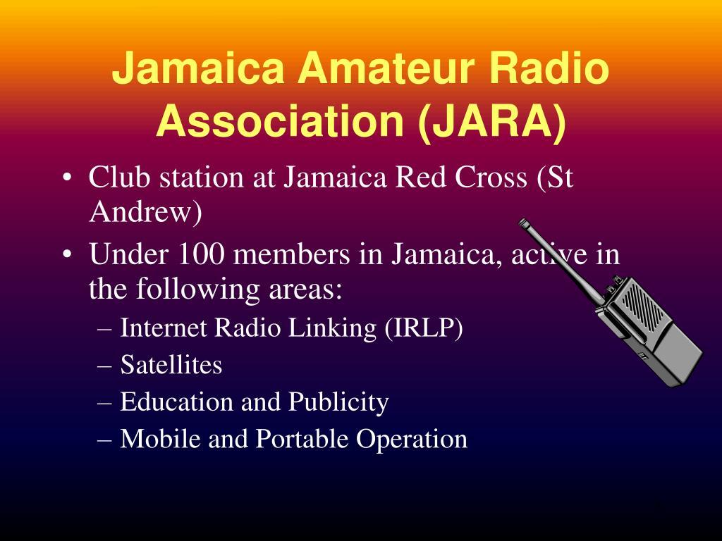 Jamaica Amateur Radio Association (JARA)