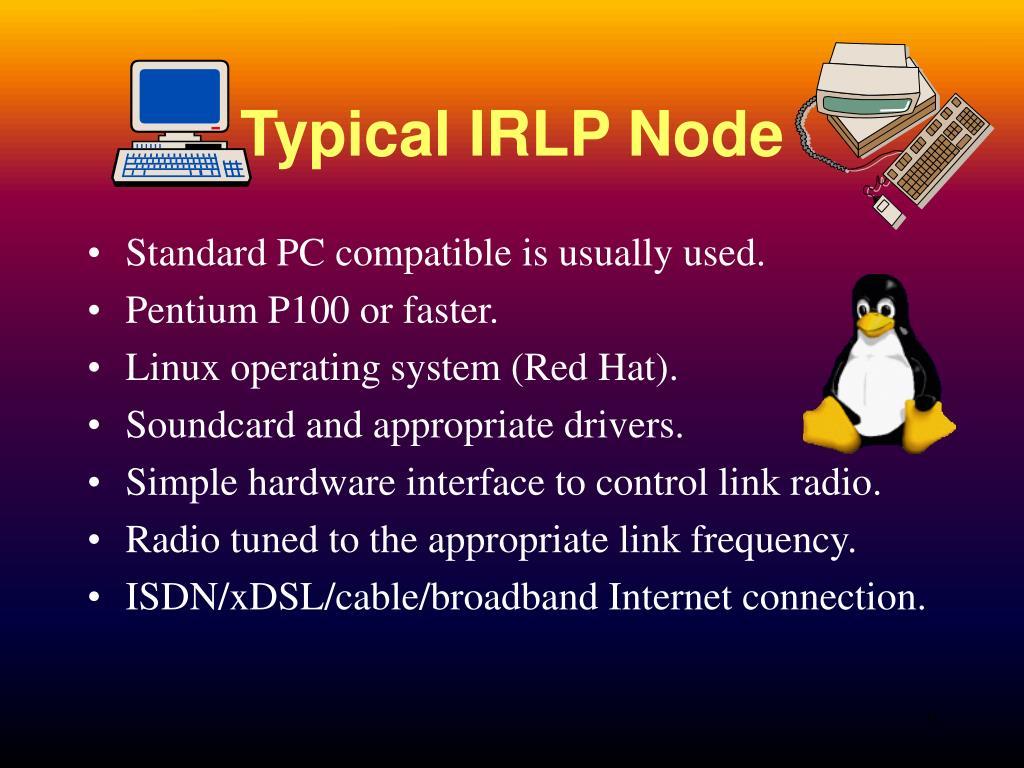 Typical IRLP Node