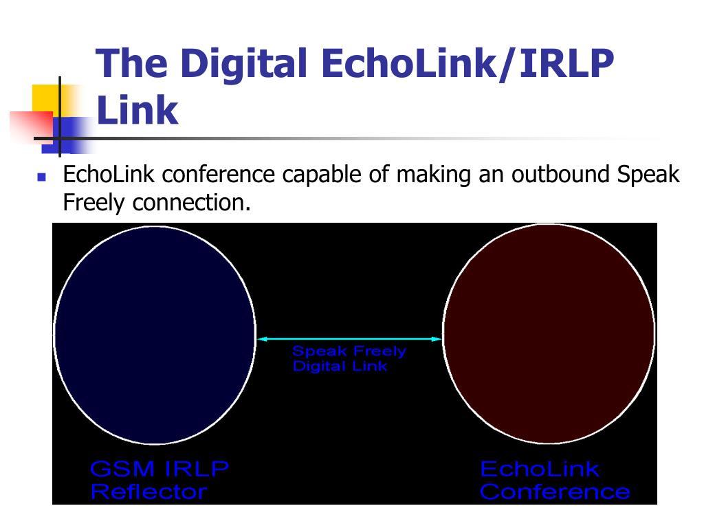 The Digital EchoLink/IRLP Link