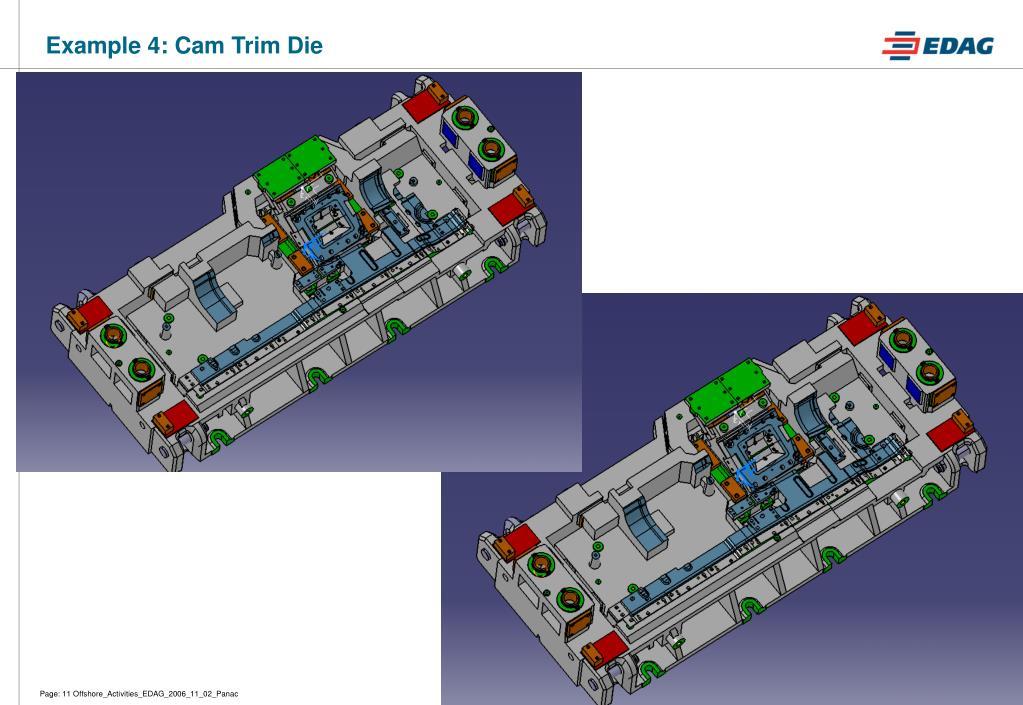 Example 4: Cam Trim Die