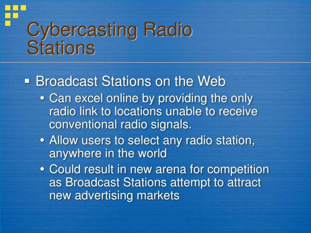 Cybercasting Radio