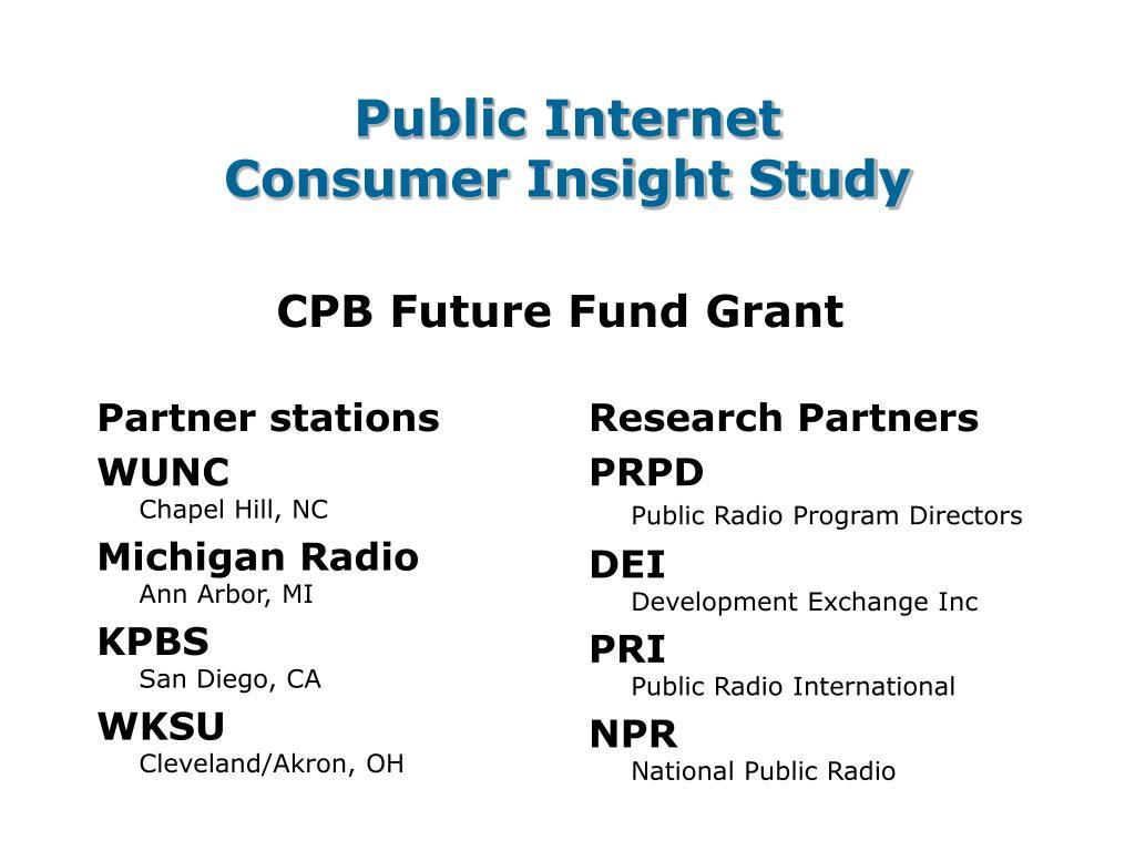 Partner stations