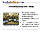 envisioning a long term strategy