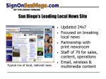san diego s leading local news site
