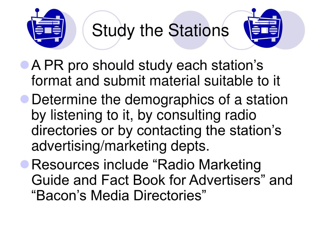 Study the Stations