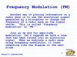 frequency modulation fm