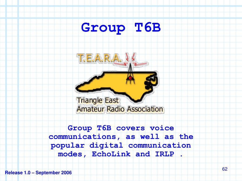 Group T6B