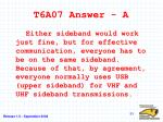 t6a07 answer a