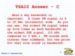 t6a10 answer c