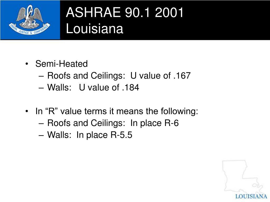 ASHRAE 90.1 2001