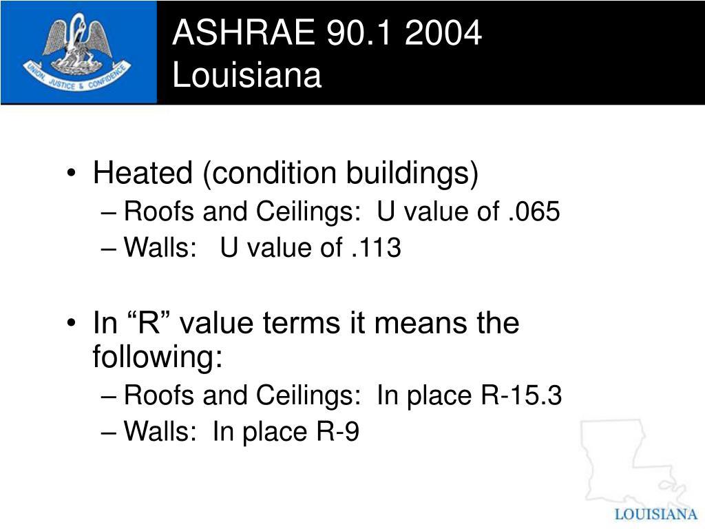 ASHRAE 90.1 2004