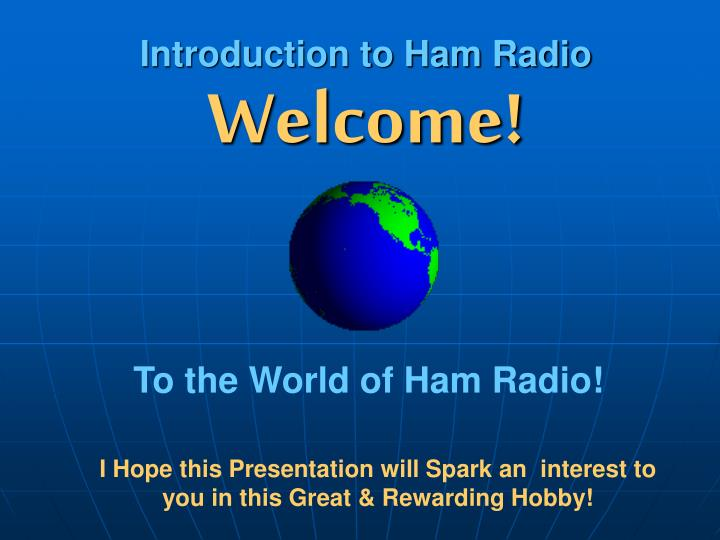 Introduction to ham radio2