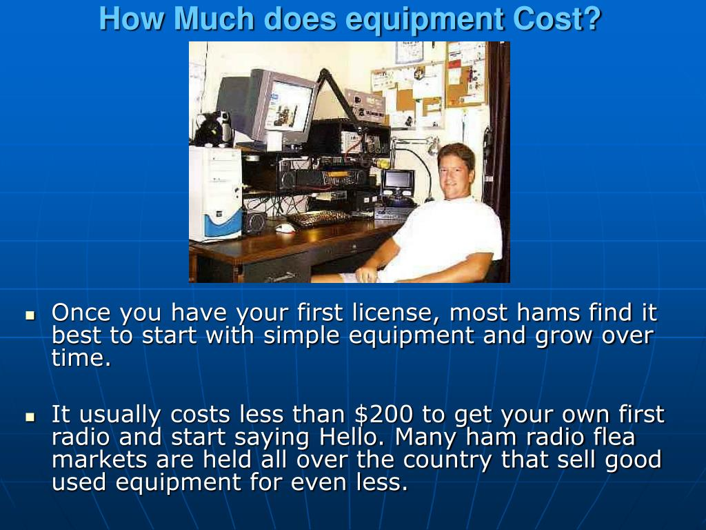 How Much does equipment Cost?