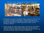 what s the appeal of ham radio27