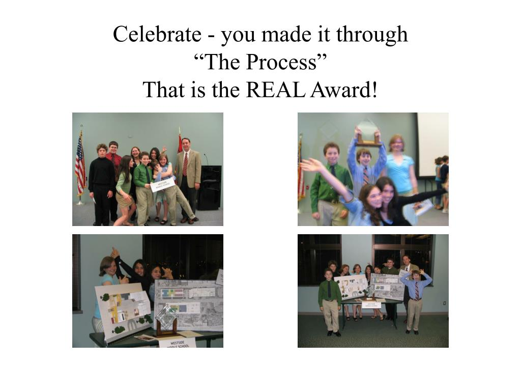Celebrate - you made it through
