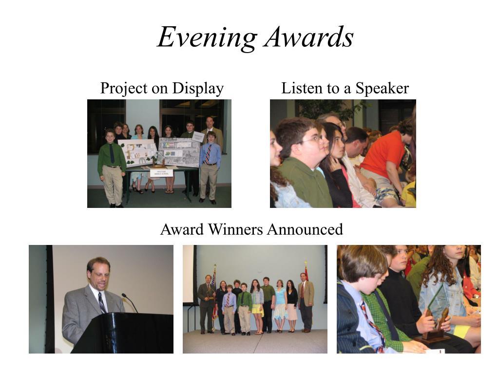Evening Awards