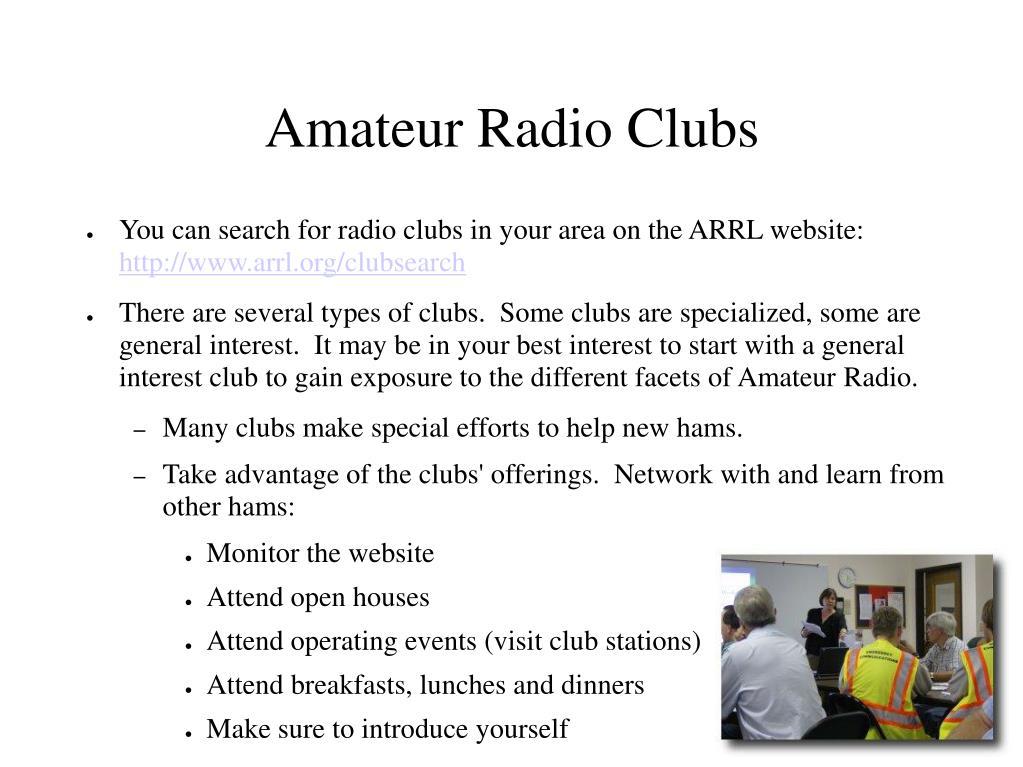 Amateur Radio Clubs