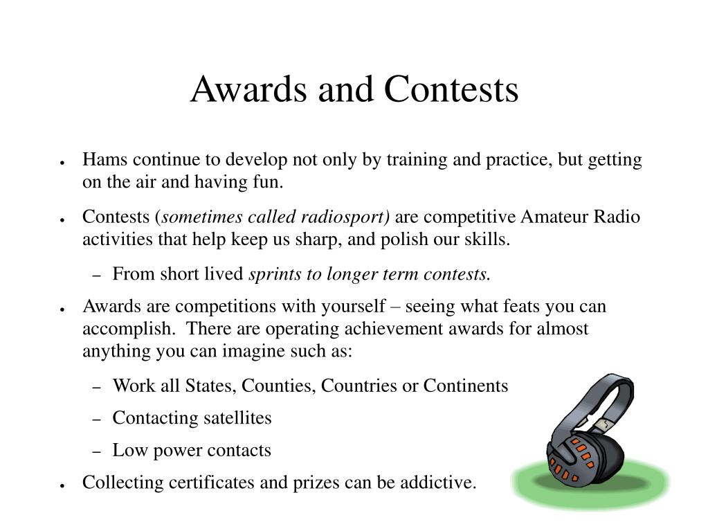 Awards and Contests