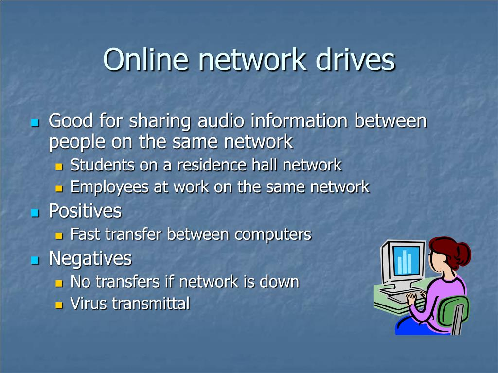 Online network drives