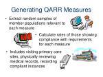 generating qarr measures