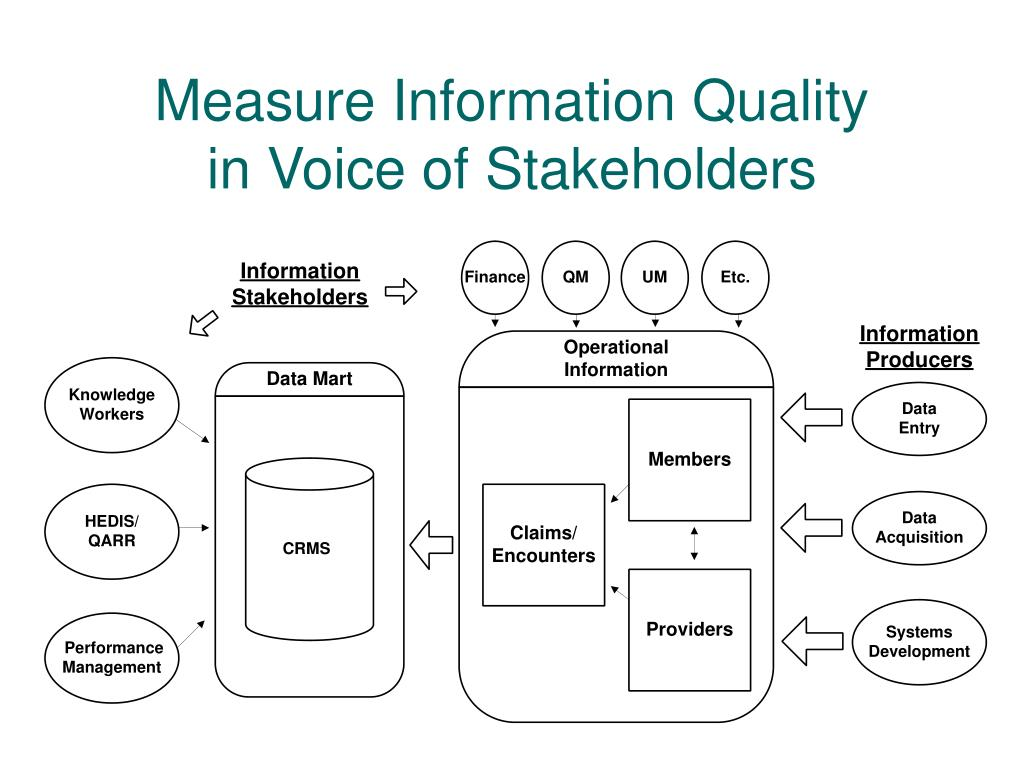 Measure Information Quality
