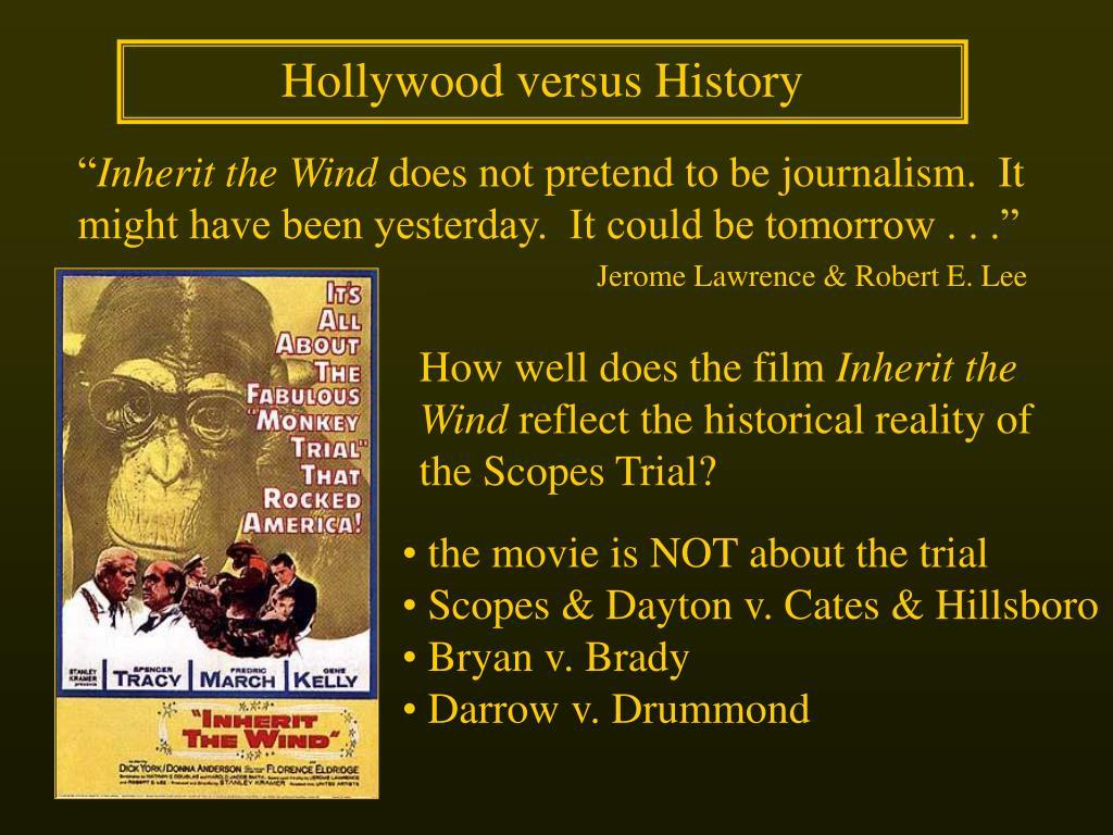 Hollywood versus History