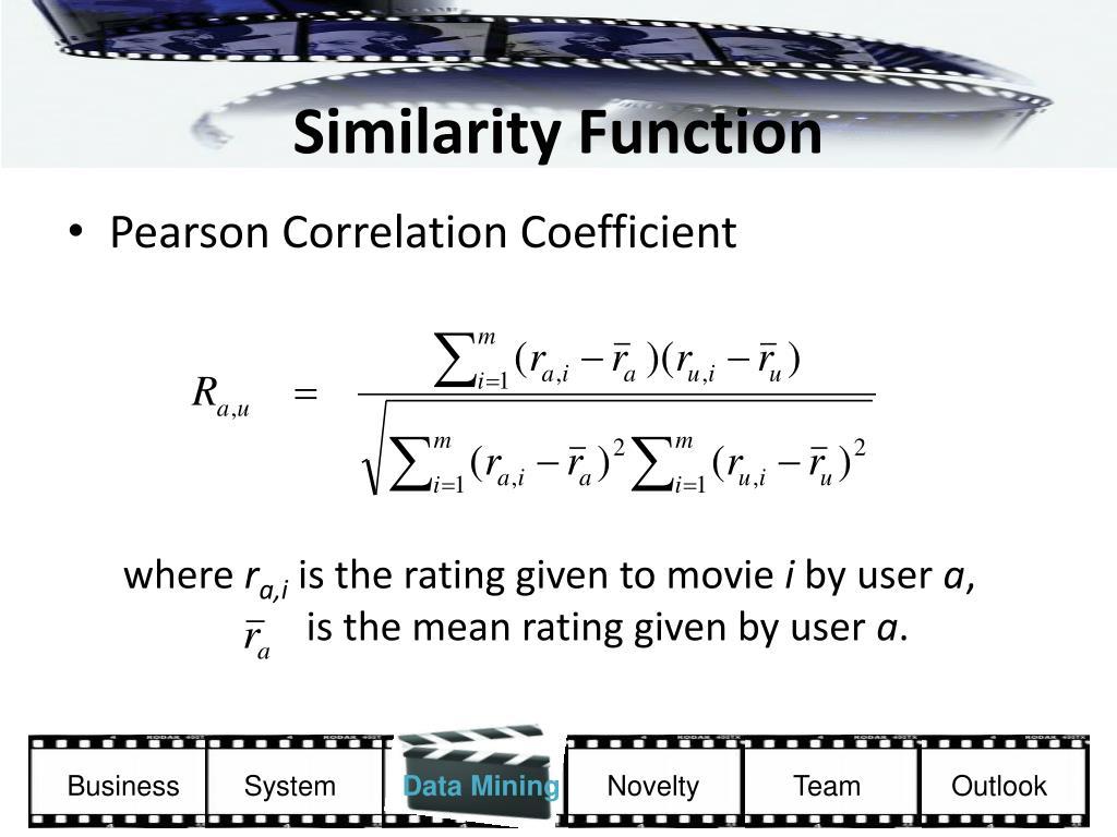 Similarity Function