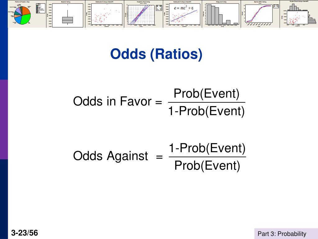 Odds (Ratios)