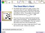 the dead man s hand